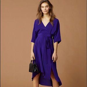 DVF  Eloise 100% silk wrap dress